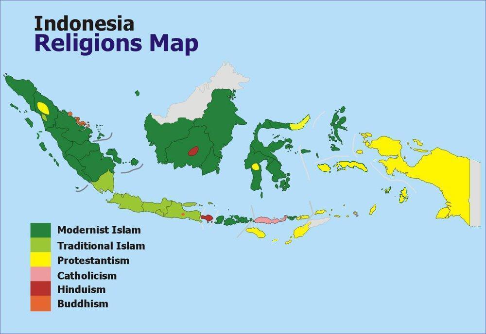UNITY IN DIVERSITY – INDONESIA'S RELIGIONS