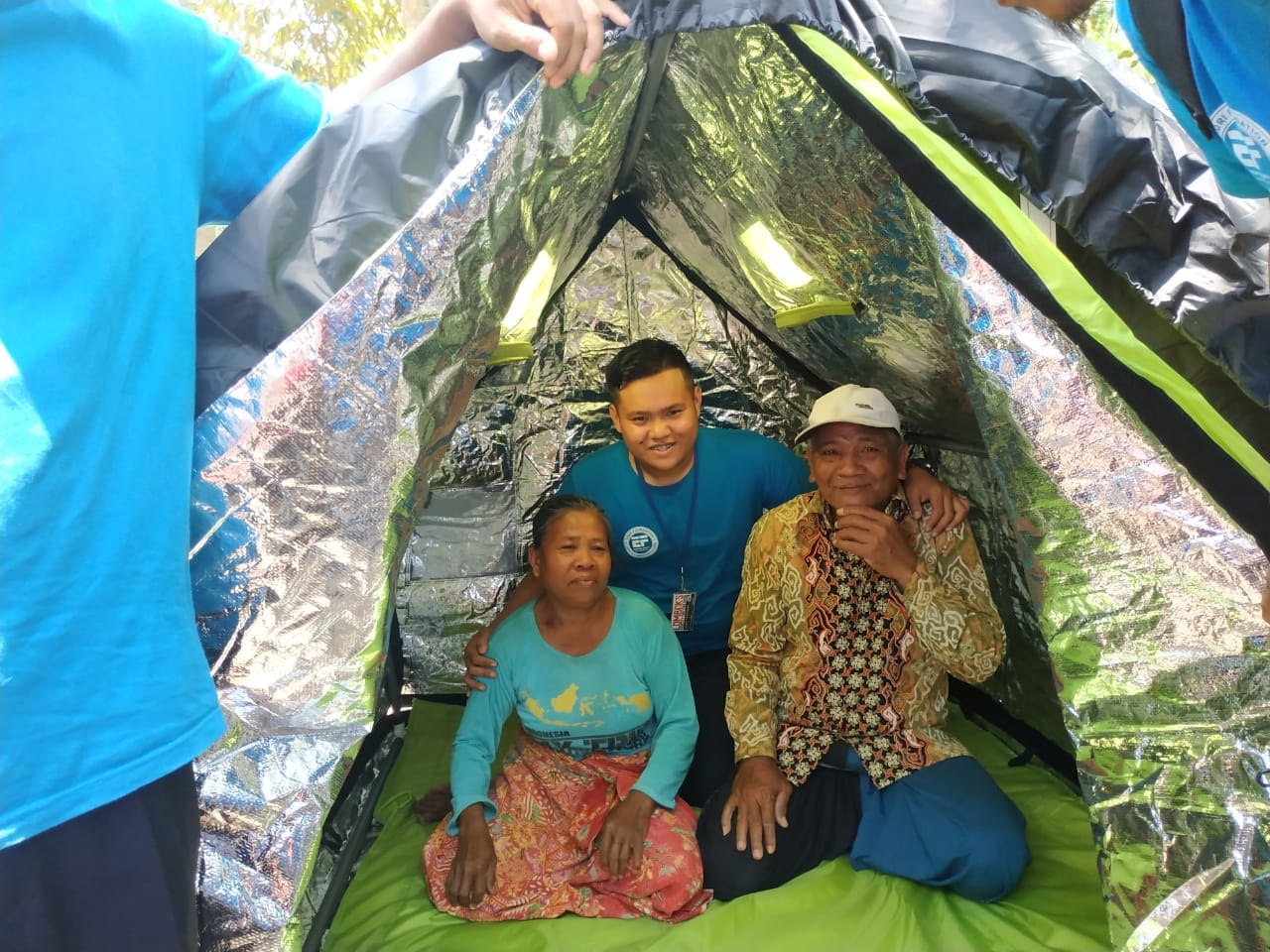 Lombok Earthquake Relief Shelter