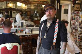 Barbers & Suspenders: the real Vintage Look