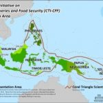 Coral reef Coral Triangle - Boundaries Map 2011